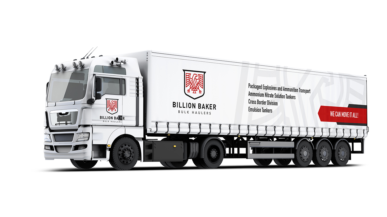 branding Billion baker MBH bulk haulers